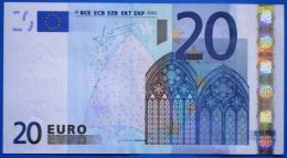 GERMANY  20 EURO X 2002 R004 E4 AUNC - TRICHET - 20 Euro