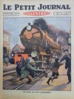LE PETIT JOURNAL ILLUSTRE-1 MARS 1925-N°1784-GARE DE GUESNAIN -CHIEN COIFFEUR-BIZET CARMEN-DJEMILMIA - Documenti Storici