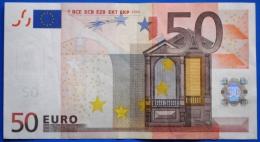 SPAIN  50 EURO V 2002 M009 H2 - DUISENBERG - EURO