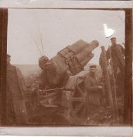 Photo Originale 14-18 Secteur De Sivry-sur-Meuse (55) - Soldats Allemand Avec Un Canon De 210 (A38,ww1, Wk1) - Guerre 1914-18