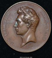M00111 La Belgique à B. G. Dumortier (1839) Et Son Profil Au Revers (50.43 Gr.) - België