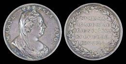 AG00124 Académie Scientifique Et Litéraire De Bruxelles (XVIIIème) Et Marie Thérese Au Revers (Ag 14 Gr.) - Unclassified