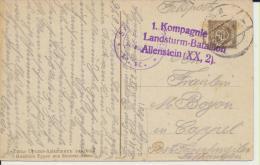 Russie Russia  Typen Zentral Asien Guerre Militaria 1914 1918 Cachet De Sarreguemines - Russia