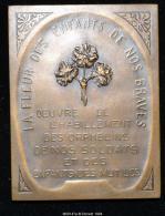 M00147 Oeuvres Pour Les Orphelins Des Soldats Morts En 14-18 Et Une Femme Avec Un Enfant Sur Ses Genoux  (72 Gr.) - Unclassified