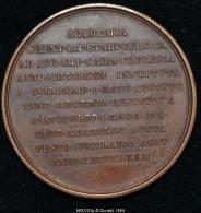 M00153 Centenaire De La Création De L´académie (1872) Et Marie Thérese Au Revers (60 Gr.) - Royal / Of Nobility