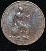 M00169 Britannia Reg Fid (1847) Et Victoria Au Revers (34 Gr.) - Royaux/De Noblesse