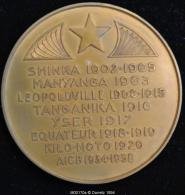 M00170 CONGO Leopoldville, Tanganika, Yser, Equateur (1938 ?) Et G.Moulaert Au Revers (190 Gr.) - Belgium