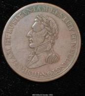 M00199 Comm. De La Bataille De Badajoz Et Madrid  (1812) Et Wellington Au Revers (8 Gr.) - Royaux/De Noblesse