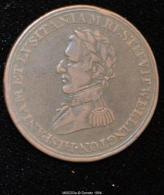 M00203 Comm. De La Bataille De Badajoz Et Madrid  (1812) Et Wellington Au Revers (6 Gr.) - Royal/Of Nobility