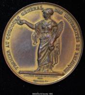 M00205 Premier Concours Des Universités (1841) Et Léopold I Au Revers (32 Gr.) - Royal / Of Nobility
