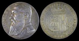 AG00063  Landbouwprijskamp 1906 Et Léopold II Au Revers (Ag 58 Gr.) - Royal / Of Nobility
