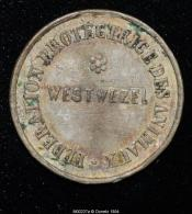M00237 Protection Des Animaux Westwezel Et Léopold II Au Revers (6 Gr.) - Royal / Of Nobility