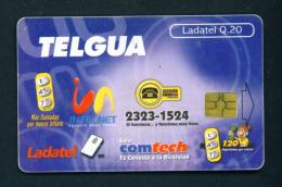 GUATEMALA - Chip Phonecard  Used (stock Scan) - Guatemala