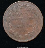 M00248 25ème Anniversaire De L´inauguration Du Roi (1856) Et Victoire Avec Buste De Léopold I (10 Gr.) - Royaux / De Noblesse