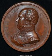 M00257 Les Libéraux Au Baron De Stassart Et Son Profil Au Revers (60 Gr.) - Unclassified
