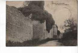 Fleac Sur Seugne Les Ruines Du Chateau - Zonder Classificatie