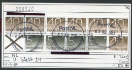 Niederlande - Nederland - Pays-Bas - Michel H-Blatt 24 - Oo Oblit. Used Gebruikt - Periodo 1949 - 1980 (Giuliana)