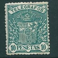 Spain 1901 Telegrafos Edifil 38 - 1889-1931 Kingdom: Alphonse XIII