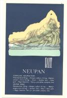"""BUVARD - Pharmacie - Médical -"""" NEUPAN """" Laboratoires RIT (f73) - Buvards, Protège-cahiers Illustrés"""