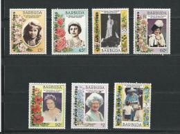 Barbuda: 763/ 769 ** - Antigua Et Barbuda (1981-...)
