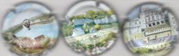 3 Capsules Muselets Cancen Val De Loire - Placas De Cava
