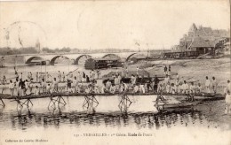 VERSAILLES 1ER GENIE ECOLE DE PONTS TRES ANIMEE SOLDATS - Versailles