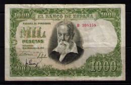 BILLETE DE 1000 PESETAS DE 1951 - USADO (VER FOTO) - [ 3] 1936-1975: Regime Van Franco