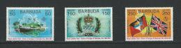 Barbuda: 325/ 327 ** - Antigua Et Barbuda (1981-...)