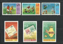 Barbuda:165/ 167 + 172/ 174 ** - Antigua Et Barbuda (1981-...)