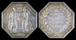 """AG00058 Banque De France, An VIII (1800) Et """"la Sagesse Fixe La Fortune"""" Avec Leurs Allégories Respectives, Argent, 24 G - France"""