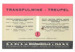 "BUVARD - Pharmacie - Médical -"" Transpulmine - Treupel   "" Ets De Bournonville  (f73)"