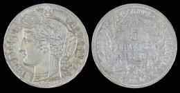 AG00057 République Française, 5 Francs (1849), Argent (26 Gr.) - J. 5 Francos