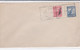 1930 - ILE De LUNDY - RARE POSTE PRIVEE Sur ENVELOPPE Avec OBLITERATION LOCALE - Cinderella