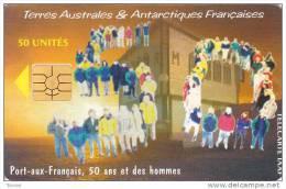 TAAF, TAF-24, 50ème Mission à Kerguelen, 2 Scans. - TAAF - French Southern And Antarctic Lands