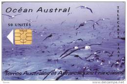 TAAF, TAF-35, Océan Austral, Birds, 2 Scans. - TAAF - Franse Zuidpoolgewesten