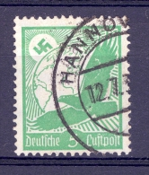 ALLEMAGNE AERIENS REICH ANNÉE 1934   N°  43   OBLITERE - Airmail