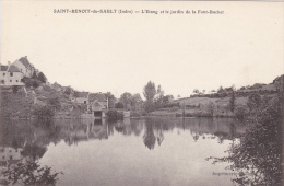 Saint-Benoît-du-Sault : L'Etang Et Le Jardin De La Font-Buchet - Frankrijk