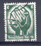 ALLEMAGNE  REICH ANNÉE 1934  N° 509   OBLITERE - Deutschland