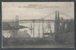 - CPA 22 - Lézardrieux, Pont Suspendu Sur Le Trieux - Frankreich