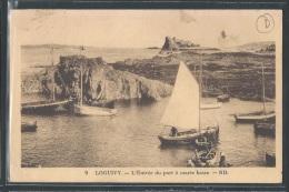 - CPA 22 - Loguivy, L'entrée Du Port à Marée Basse - Frankreich