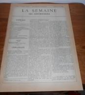 La Semaine Des Constructeurs. N°40. 2  Avril 1887.Villa De M. R.... à Enghien Les Bains. - Magazines - Before 1900