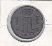 1 FRANC Zinc Léopold III 1941 FR/FL - 1934-1945: Leopold III