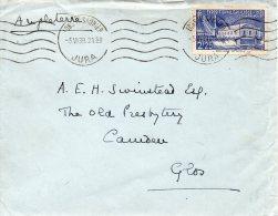 FRANCE TIMBRE N°430 SEUL SUR LETTRE 1939 - Marcophilie (Lettres)