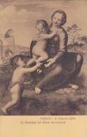 Cp , ARTS , FIRENZE , R. Galleria Uffizi , La Madonna Del Pozzo  , ( Bugiardini ) - Pittura & Quadri