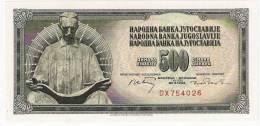 Yugoslavia 500 Dinara 1970.UNC Without Security Thread P-84a Nikola Tesla - Yougoslavie