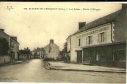 SAINT-MARTIN D´AUXIGNY (18) Les Labes ; Route D´Allogny - Ed. Charette N°104 EMB ( Restaurant-charcuterie Gilbert) - Autres Communes