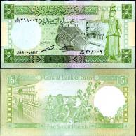 Syrie (1991) - 5 Livres P 100  UNC - Syrie