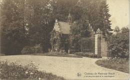Ham-sur-Heure - Le Château - L'entrée Principale Et La Conciergerie - 1932 ( Voir Verso ) - Ham-sur-Heure-Nalinnes