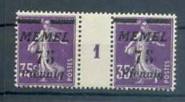 Memel 62ZW+Ms LUXUS**POSTFRISCH (X4212 - Klaipeda