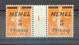 Memel 52ZW+Ms LUXUS**POSTFRISCH (X4217 - Klaipeda